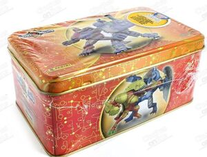 INVIZIMALS 3 TIN BOX GOLD BATALLA DE CAZADORES
