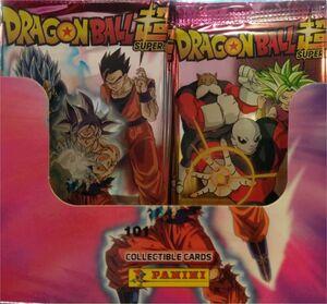 DRAGON BALL SUPER TRADING CARDS SOBRE (PEGATINAS)