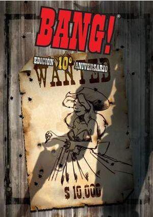 BANG! EDICION 10º ANIVERSARIO