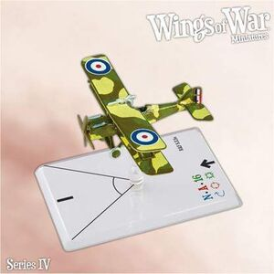 WINGS OF WAR MINIATURES SERIE 4 - R.A.F. SE5A (DALLAS)