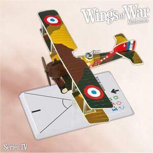 WINGS OF WAR MINIATURES SERIE 4 - BREGUET BR. 14 B2 (GREBIL & CARRON)