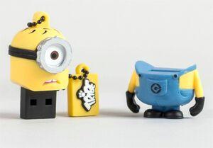 GRU MI VILLANO FAVORITO MEMORIA USB 8 GB MINION CARL