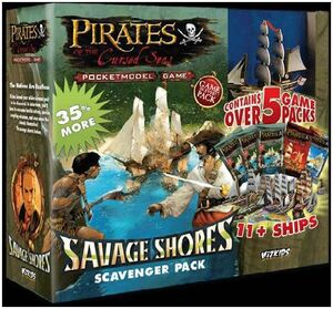 PIRATES SAVAGE SHORES