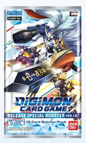 DIGIMON CARD GAME RELEASE SPECIAL BOOSTER VER 1.0