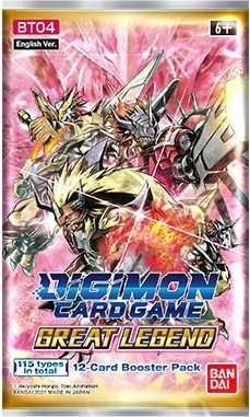 DIGIMON CARD GAME BOOSTER GREAT LEGEND