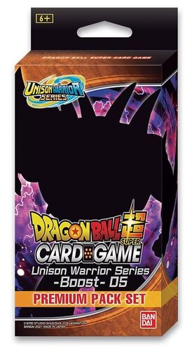 DRAGON BALL TCG PREMIUM PACK SET 05 UNISON WARRIOR SERIES 05