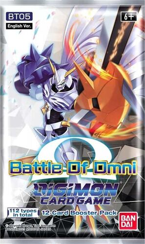 DIGIMON CARD GAME BOOSTER BT05 BATTLE OF OMNI