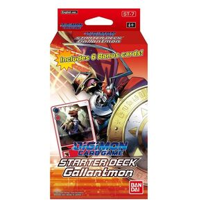 DIGIMON CARD GAME STARTER DECK 7 GALLANTMON