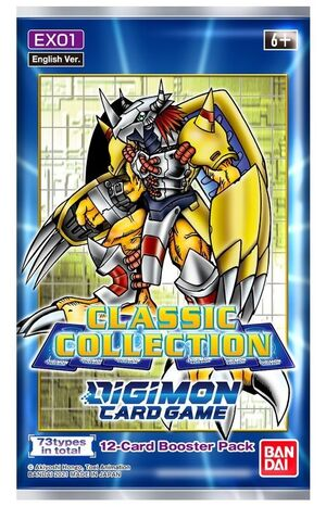DIGIMON CARD GAME CLASSIC COLLECTION BOOSTER