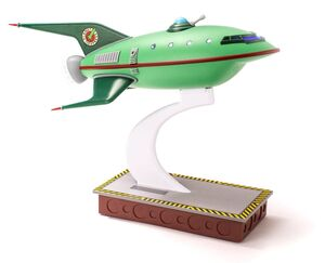 FUTURAMA RÉPLICA MASTER SERIES PLANET EXPRESS SHIP 30 CM