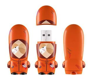 SOUTH PARK MIMOBOT MEMORIA USB DEAD KENNY 8GB