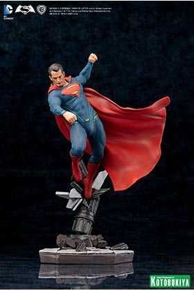 BATMAN VS SUPERMAN: DAWN OF JUSTICE ESTATUA 25 CM SUPERMAN DC COMICS ARTFX+