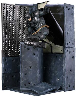 BATMAN ARKHAM KNIGHT ESTATUA 25CM PVC ARTFX+ 1/10 BATMAN
