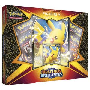 POKEMON JCC CAJA DESTINOS BRILLANTES PIKACHU V
