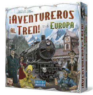 AVENTUREROS AL TREN: EUROPA - JUEGO DE TABLERO