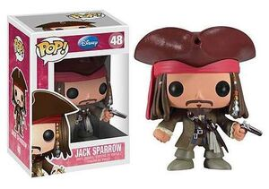 JACK SPARROW FIG 10 CM VINYL POP DISNEY