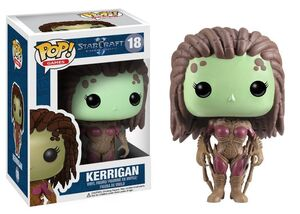 STARCRAFT FIGURA 10 CM VINYL POP KERRIGAN THE QUEEN OF BLADES