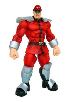 STREET FIGHTER SERIE 1: M. BISON FIG. 18CM