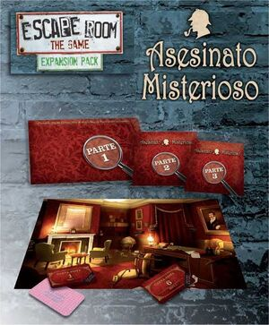 ESCAPE ROOM THE GAME. EXPANSION ASESINATO MISTERIOSO