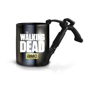 THE WALKING DEAD TAZA CERAMICA 470 ML CROSSBOW HANDLE COFFEE