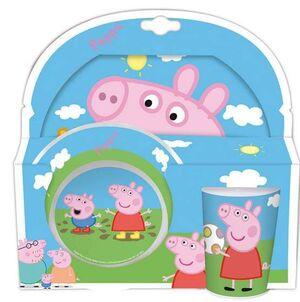 PEPPA PIG PACK DESAYUNO PEPPA & GEORGE