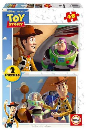 TOY STORY PUZZLE 2X48