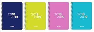 AGENDA ESCOLAR 2018/2019 ENRI 8º D/P CASTELLANO ESPIRAL TP
