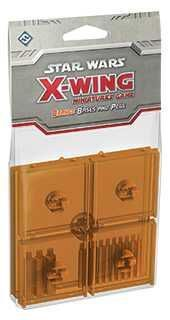 X-WING: PEANAS Y CLAVIJAS NARANJAS