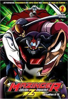 DVD MAZINGER Z #02