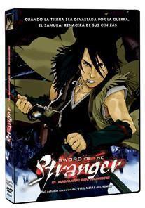 DVD SWORD OF THE STRANGER. EL SAMURAI SIN NOMBRE