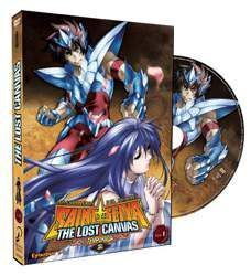 DVD LOS CABALLEROS DEL ZODIACO - THE LOST CANVAS VOL.1 - 2ª TEMP.