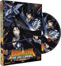 DVD LOS CABALLEROS DEL ZODIACO - THE LOST CANVAS VOL.3 - 2ª TEMP.