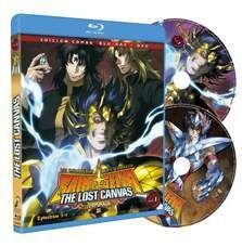 DVD LOS CABALLEROS DEL ZODIACO - THE LOST CANVAS VOL.1 - 2ª TEMP. COMBO