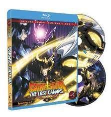 DVD LOS CABALLEROS DEL ZODIACO - THE LOST CANVAS VOL.2 - 2ª TEMP. COMBO