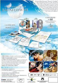 DVD LA VISION DE ESCAFLOWNE - ED. COLECC (8 DVD)