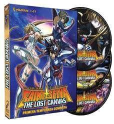 DVD LOS CABALLEROS DEL ZODIACO - THE LOST CANVAS 1ª TEMP. (3 DVD)