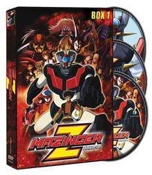 DVD MAZINGER Z ED. IMPACTO BOX 1 (3 DVD)