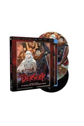 DVD BERSERK LA EDAD DE ORO I -ED.COLECCIONISTA BD+DVD+LIBRO+OST