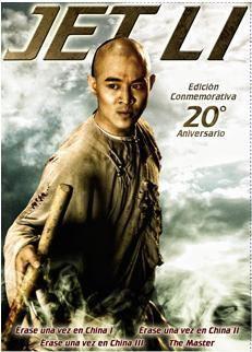 DVD JET LI PACK (4 DVD)