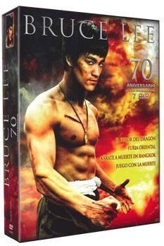 DVD BRUCE LEE 70º ED. COLECC (7 DVD)