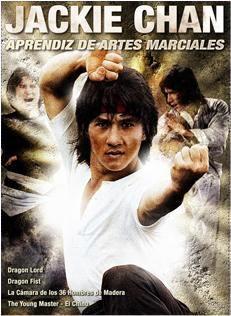 DVD JACKIE CHAN PACK: APRENDIZ DE ARTES MARCIALES (4 DVD)