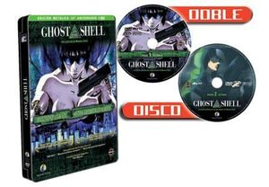 DVD GHOST IN THE SHELL ED. ESPECIAL CAJA METALICA (2 DVD)