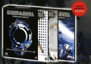 DVD GHOST IN THE SHELL SAC 1ª TEMP SLIM PACK (6 DVD)
