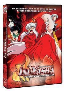 DVD INU YASHA LA PELICULA 4. FUEGO EN LA ISLA MISTICA