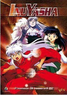 DVD INU YASHA 1ª TEMP PACK (6 DVD)