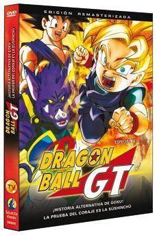 DVD DRAGON BALL GT (ESPECIAL TV) - HISTORIA ALTERNATIVA DE GOKU