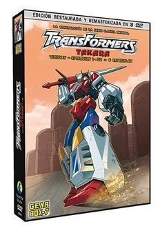 DVD TRANSFORMERS (LA SERIE ORIGINAL) 7ª TEMP. (8 DVD) - GEAR BOX