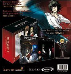 DVD DEATH NOTE (SERIE COMPLETA) ED. COLEC. (9 DVD) + FIGURA. EP. 1