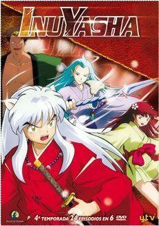 DVD INU YASHA 4ª TEMP. PACK (6 DVD)