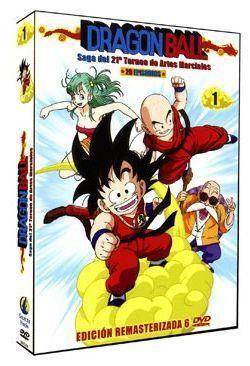 DVD DRAGON BALL SERIE ORIGINAL PACK 1 (6 DVD) - SAGA 21 TORNEO ARTES MARCIA
